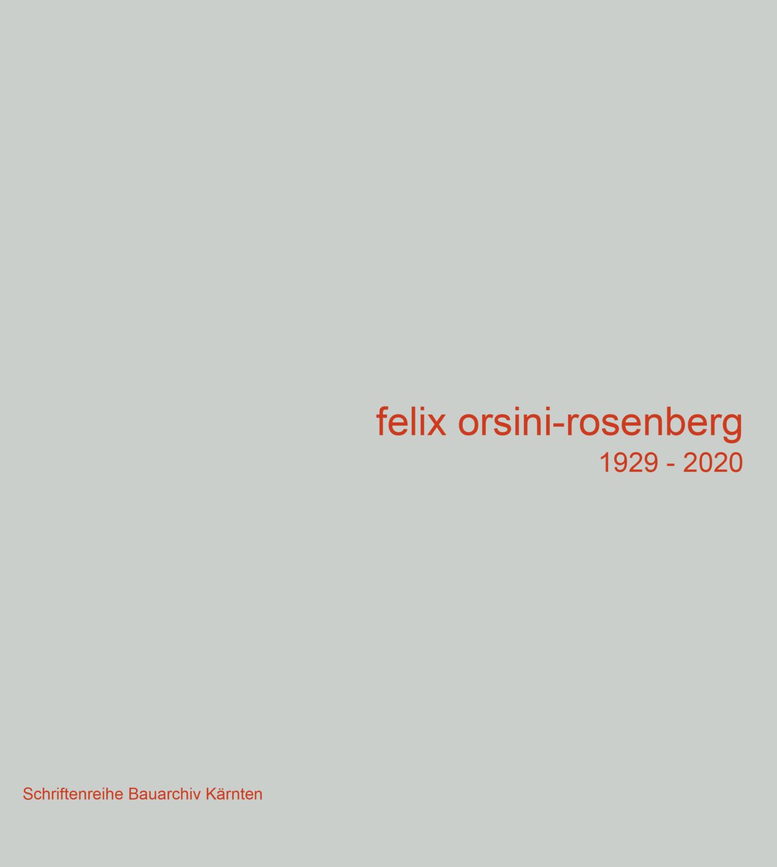 Felix Orsini-Rosenberg